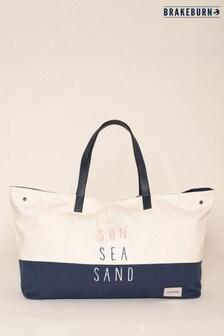 Brakeburn Cream Sun Sea Sand Beach Bag