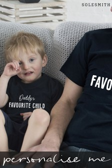 Personalised Children's Favourite Child T-Shirt by Solesmith