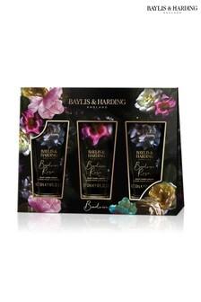 Baylis & Harding Boudoire Rose 3 Hand Cream Set