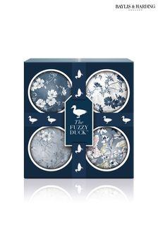 Baylis & Harding The Fuzzy Duck Cotswold Floral 4 Bath Fizzers Set