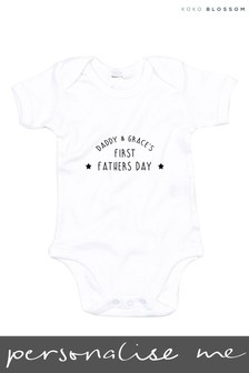 Personalised Baby Bodysuit by Gift Collective