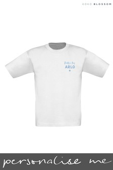 Personalised Daddy's Boy T-shirt by Gift Collective