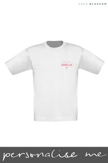 Personalised Daddy's Girl T-shirt by Gift Collective