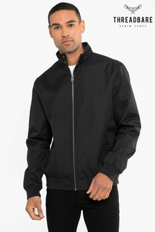 Threadbare Black Harrington Jacket