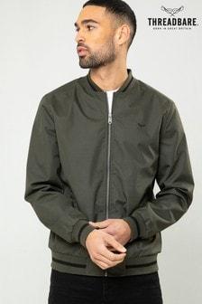 Threadbare Green Bomber Jacket