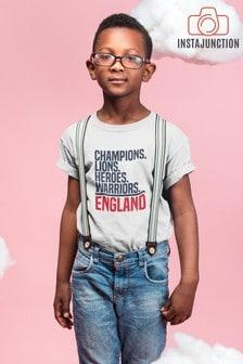 Instajunction Blue Rule Breaker Father's Day Kid's T-Shirt
