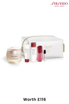 Shiseido Benefiance Wrinkle Smoothing Cream Pouch Set (worth £116)