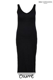 Only Carmakoma Black Curve Jersey Maxi Dress
