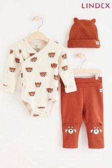 Lindex Fox Set Baby 3 Piece Set