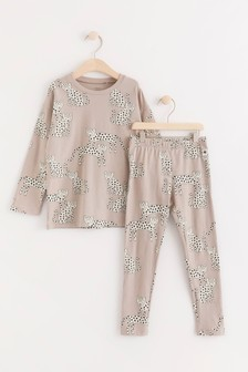Lindex Cream Set with long sleeve top and leggings