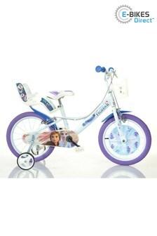 E-Bikes Direct WhiteBlue E-Bikes Direct WhiteBlue Dino Disney Licensed Frozen 2 Kids - 16 inch Wheels