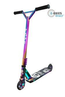 E-Bikes Direct NeoChrome New Limited Edition 1080 XN MID Jet Fuel Push Stunt Scooter