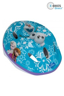 E-Bikes Direct Pink Dino Disney Frozen Kids Protective Cycling Safety Helmet - 52-56cm 3 Years+