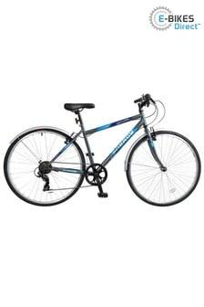 E-Bikes Direct Grey Natural Energy Mens Crossbar Trekking Bicycle 700c 6 Speed
