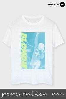 Blondie White Call Me Boyfriend Fit T-Shirt