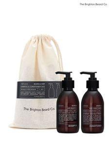 The Brighton Beard Co. Alfriston Beard, Hair Shampoo and Conditioner Duo