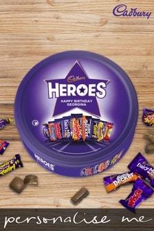 Personalised Cadbury Heroes Tin by Yoodoo