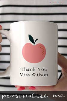 Personalised Teacher Mug by The Gift Collective