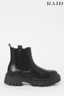 Raid Black Ankle Boot