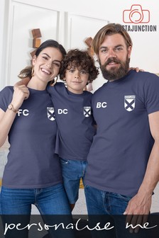 Personalised Scotland Football Supporter Men's T-Shirt by Instajunction