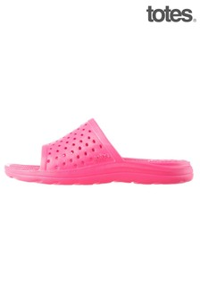 Totes Pink Kids Solbounce Perforated Slide