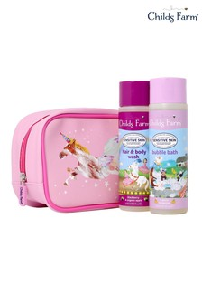 Childs Farm Unicorn Washbag Gift Set