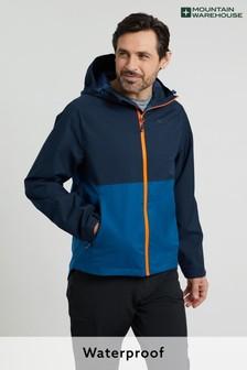 Mountain Warehouse Teal Verge Extreme Mens Lightweight, Waterproof Jacket
