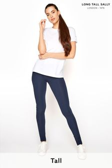 Long Tall Sally Blue Organic Cotton Legging