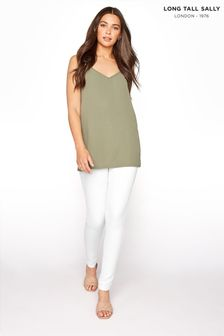 Long Tall Sally White Ava Superstretch Skinny Jean