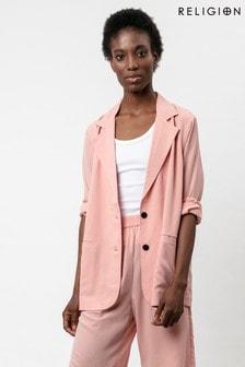 Religion Blossom Pink Lightweight Fortune Blazer