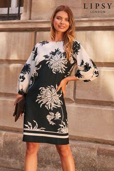 Lipsy Monochrome Shift Dress