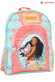 Character Blue Disney Moana Floral Backpack