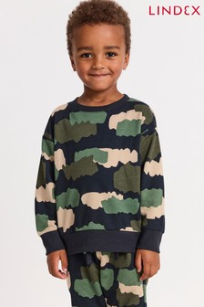 Lindex Blue Print Sweater