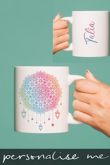 Personalised Eid Dream Catcher Mug by Signature Gifts