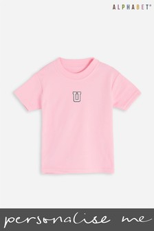 Personalised Monogrammed Kids T-Shirt by Alphabet