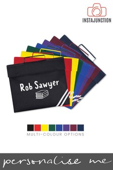 Personalised Back To School Book Bag by Instajunction