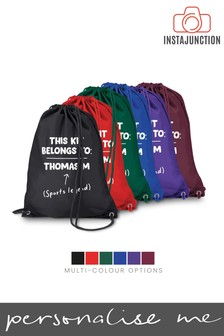 Personalised Back To School Kit Bag by Instajunction