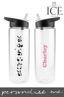 Personalised Panda Water Bottle by Ice London