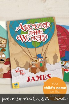 Personalised Around the World Hardback Book by Signature Book Publishing