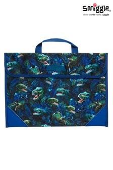 Smiggle Blue Galaxy Book Bag
