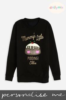 Personalised Kids Christmas Twinning Sweatshirt by Dollymix