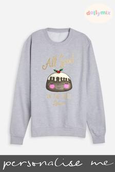 Personalised Christmas Twinning Mum Sweatshirt by Dollymix