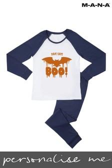 "Personalised Halloween ""BOO!"" Pyjamas  by MANA"