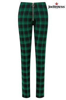 Joe Browns Green Rock Chick Check Trousers