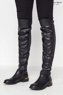 Long Tall Sally Black Stretch Boot