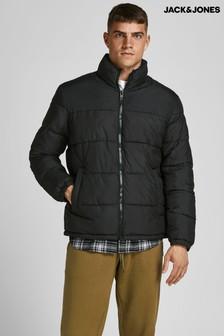 Jack & Jones Black Padded Jacket