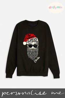 Personalised Christmas Men's Sweatshirt by Dollymix