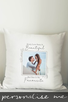 Personalised Photo Upload Cushion by Signature Gifts