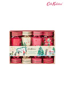 Cath Kidston Shine Bright Beauty Crackers Gift Set (with 4 x Body Washes)