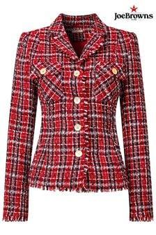 Joe Browns Red Chic Check Jacket